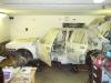 Zakrytí auta pro stříkání rámu